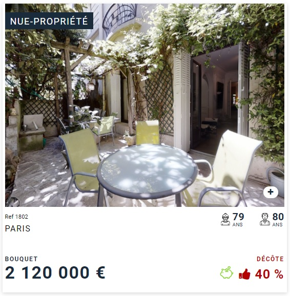 Nue-propriété Paris 16